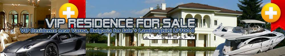 VIP Residence near Varna, Bulgaria for Sale