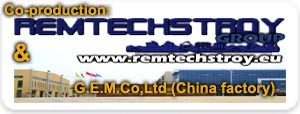 Co-production TAMPERS.EU & REMTECHSTROY GROUP & G.E.M.Co.Ltd. (China factory), JSC in Europa