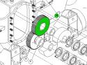 REM.GLF70.228 Зъбно колело (Заменя Plasser GLF70.228)