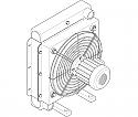 REMsu126.10114.1.73.1 Heavy-duty radiator without motor (Replace Plasser SU126.10114.1.73.1)