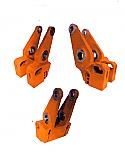 SET 09-3X TAMPING ARM REMUD19.19XX/UD24XX {Replace Plasser UD19.1902/1903, CA21.2401/2402/2403/2405}