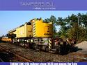 Железопътен кран EDK-125t TAKRAF (жп междурелсие 1435 мм) за Продажба
