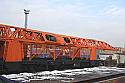 REBUILT 2020* year Rebuilt Railway Track-Laying Crane UK25/9-18/ Broad Gauge Track: 1520 mm