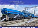 Железопътен кран EDK-2000 TAKRAF (2020 год. жп междурелсие 1520 мм) за Продажба