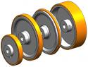 REM-EL-T490.04 Ролка (Заменя Plasser EL-T490.04)