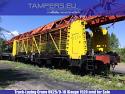 Пътеполагащ ЖП кран УК-25/9-18 (след основен ремонт 2016 година, междурелсие: 1435 мм) за Продажба