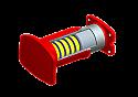 REMUD190.347H Buffer (Replace Plasser UD190.347H)