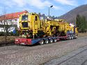 Транспорт на извънгабаритни, тежки товари и жп механизация {в България и Европа} под Наем