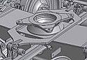 REMsu1600.502.7.2 Bogie pivot (Replace Plasser SU1600.502.7.2)