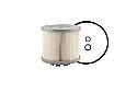 REM2040SM  Filter element (Replace Plasser 2040SM)