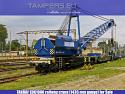 Железопътен кран EDK-1000 TAKRAF (жп междурелсие 1435 мм) за Продажба