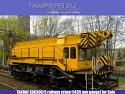 Железопътен кран EDK-300 TAKRAF (жп междурелсие 1435 мм) за Продажба