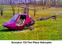 1988 г. - Scorpion Скорпион 133 Дву местен Вертолет за Продажба