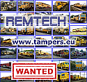 1676 mm Gauge WANTED: TAMPERS (Duomatic 08-32 and Multipurpose Tamping Machine (Unimat-Compact/M))