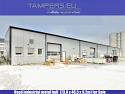 Използвано индустриално метално хале {комплект, стоманена ферма, изолация, 73.0 x 46.5 x 9.2m} за Продажба