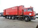 MAN F2000 Контейнер цех / жп камион -1999 година {Един собственик -DB} за Продажба