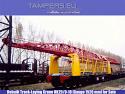 Пътеполагащ ЖП кран УК-25/9-18 + платформа УК-25/9-18МП (след основен ремонт 2008 година, междурелсие: 1520 мм) за Продажба