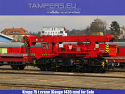 Железопътен кран 75t KRUPP (жп междурелсие 1435 мм) за Продажба
