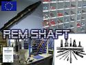 REM.CU20.201 (CU20.201) Vibration shaft {Replace Plasser CU20.201}